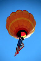Springfield, air, balloon, balloon, flag, hot, patriotic