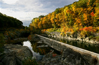 Belchertown, Fall, Quabbin, foliage, spillway, water, reflection, autumn