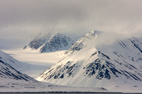 "Arctic,  Svalbard, landscape, Norway, mountains, ""snow-covered"""